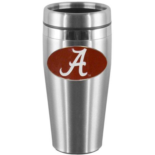 NCAA Alabama Crimson Tide Steel Travel Mug