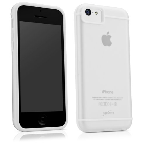 iPhone 5c Case, BoxWave [SimpleElement Cover] Ultra Low Profile, Hard Shell Cover for Apple iPhone 5c - White (Low Profile Iphone 5c Case compare prices)
