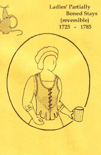 18th Century Ladies' Partial Boned Stays Pattern