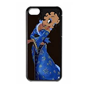 Betty Boop iPhone 5c Cell Phone Case Black yyfabc-344801