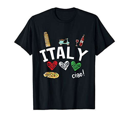 Italian Girl T-shirt - Love Italy and Everything Italian Culture Gift T-Shirt