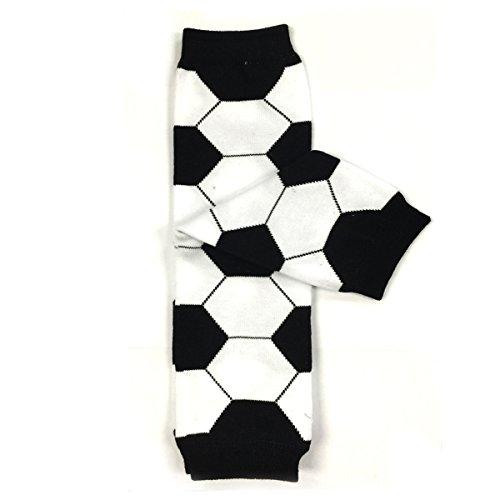 (Bowbear Adorable Designs Baby Leg Warmers, Soccer Ball)