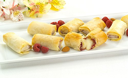 Brie and Raspberry With Almonds in Phyllo - Bite Size Frozen