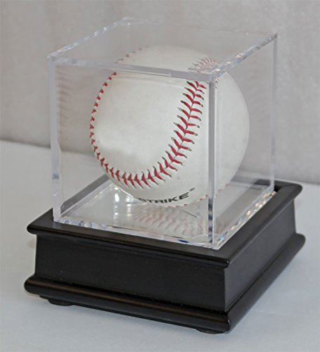 - DisplayGifts Pro UV Baseball Display Case Holder Stand (Black)