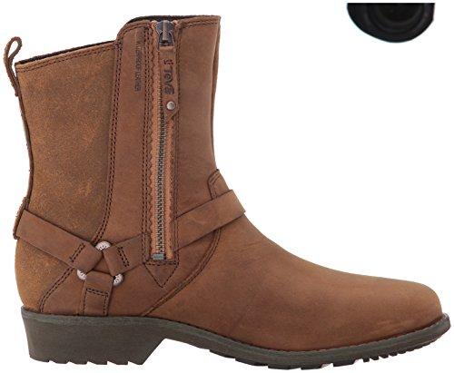 Teva Women's Delavina Dos Premium Leather Boot Brown (Bison) new styles cheap online vtu7dICa