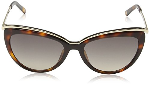 Escada - Lunette de soleil SES346 OEil de chat  - Femme Orange spotted dark havana frame / smoke gradient lens