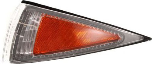 CPP Driver Side DOT/SAE Compliant Corner Light for 95-99 Chevy Cavalier GM2550137 ()