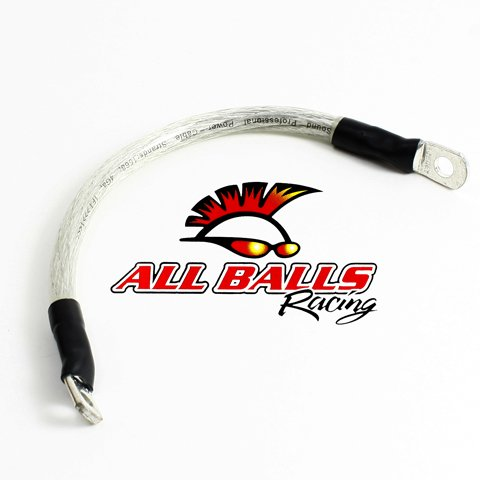 "All Balls 78-110 Clear 10"" Battery Cable"