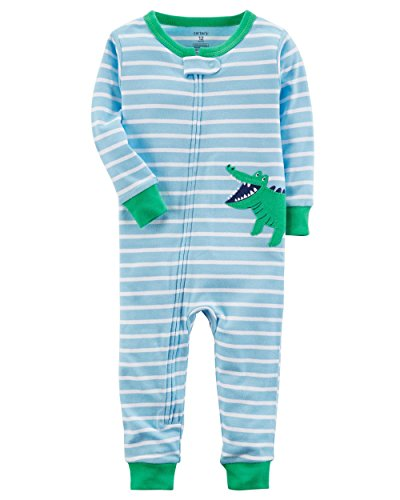 Carter's Baby Boys' 1-Piece Snug Fit Footless Cotton Pajamas