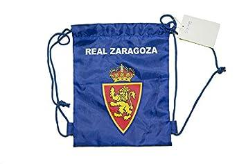 Real Zaragoza Moczar Mochila, Azul/Blanco, Talla Única: Amazon.es: Deportes y aire libre