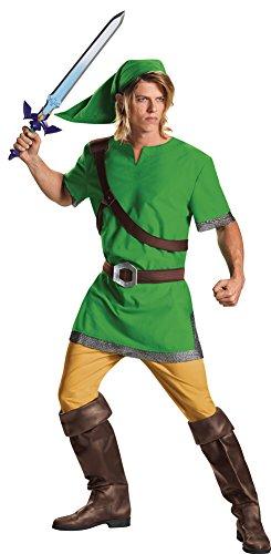Costumes Classic Link Adult (Mens Halloween Costume- Link Classic Adult Teen Costume)