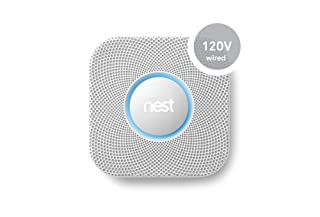 Nest Protect Smoke and Carbon Monoxide Alarm (Wired 120V) 2002LW (B00KLRB1GE) | Amazon price tracker / tracking, Amazon price history charts, Amazon price watches, Amazon price drop alerts