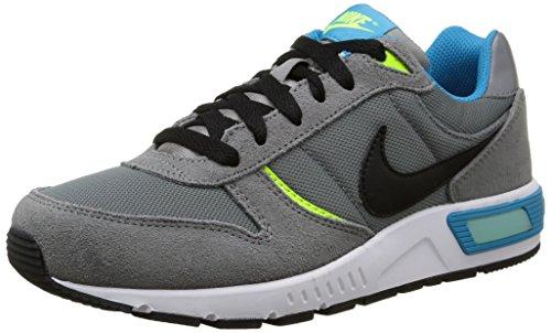 Nike Nightgazer GS - Zapatillas para niños Gris (Cool Grey / Black Bl Lagoon Vlt)