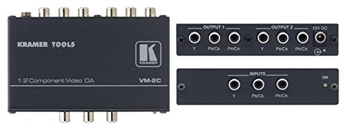 (Kramer VM-2C 1:2 Component Video Distribution Amplifier)