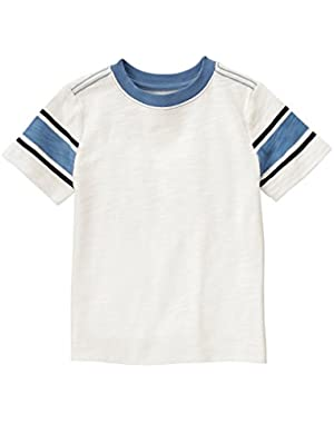 Baby Toddler Boys' Slub Striped Tee