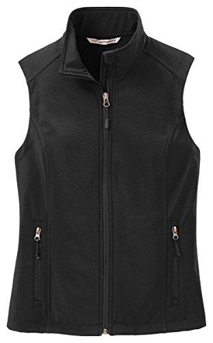 Port Authority Womens Vest (Port Authority Women's VersatileCore Soft Shell Vest_Black_Medium)