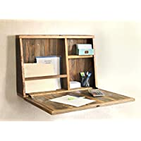 Drop Down Secretary Desk - Wall Mounted Desk