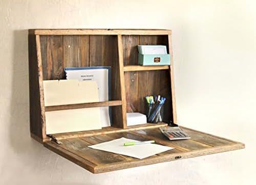 Drop Down Secretary Desk - Wall Mounted Desk