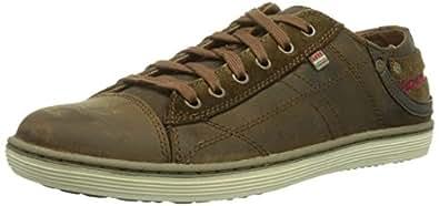 skechers SORINO- PANTALONE - Zapatillas de deporte para hombre, color marrón, talla 40