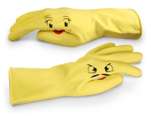 Fred DISHPLAY Hand-Puppet Dish Gloves