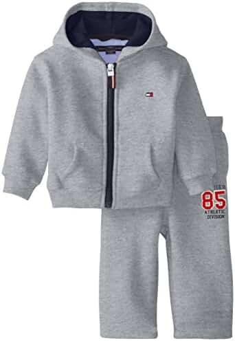 Tommy Hilfiger Baby Boys' Draper Fleece Sweatsuit Set