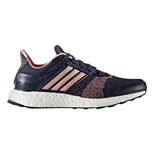 Zapatillas De Running Adidas Performance Mujeres Ultra Boost Street Grey Medianoche / Still Breeze-collegiate Navy