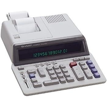 amazon com sharp r qs 2760a professional use printing calculator rh amazon com  sharp el 1197gii manual