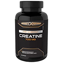Body Fortress Creatine 700mg Capsules, 120 Count