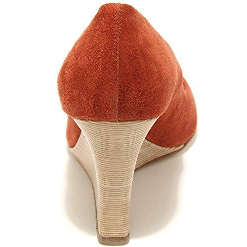 Women Donna Mattone Decollete 55674 Rd Spuntato Shoes Tod's Zeppa Scarpa qawS18q