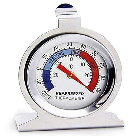 Termómetro de acero inoxidable para frigorífico y congelador ...