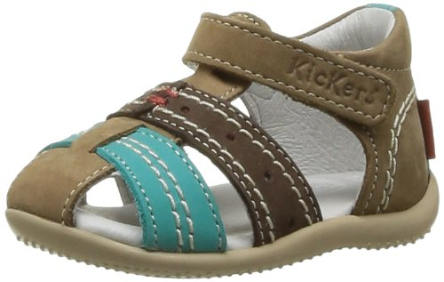 084279db75aa0d Kickers Bigbazar, Chaussures Basses à Scratch bébé garçon - Beige (Beige  Marron Turquoise), 19 EU: Amazon.fr: Chaussures et Sacs