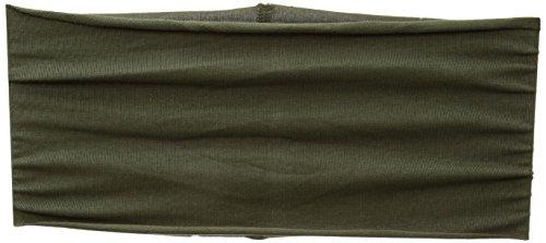 prAna Womens Organic Headband, Cargo Green, One Size