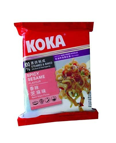 KOKA Delight Spicy Sesame Noodles(85g x 4 Packs): Amazon.in: Grocery & Gourmet Foods