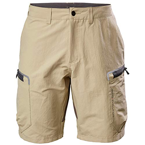 Musto Mens Evolution Performance 2.0 Sailing Boating Watersports Shorts – Light Stone – Easy Stretch