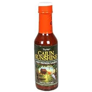 TryMe Cajun Sunshine Hot Pepper Sauce - 5 oz