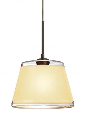 Amazon.com: Besa Lighting 1JC-PIC9CR-LED-BR - Lámpara de ...