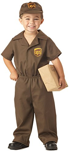 The UPS Guy Toddler Costume 3-4