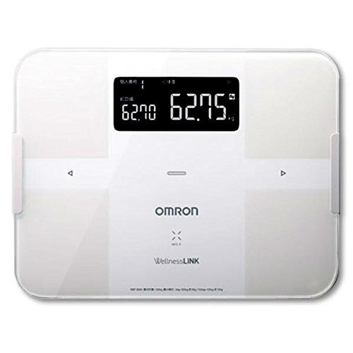 Omron body composition meter (white) body scan HBF-254C-W (White)