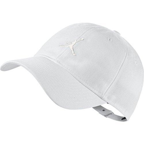 Off Mens Air (Nike Mens Air Jordan Floppy H86 Dad Hat Black/Black 847143-010 (WHITE/OFF WHITE))