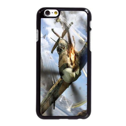 D8X67 monde de l'aviation L8H8DD coque iPhone 6 Plus de 5,5 pouces cas de couverture de téléphone portable coque noire WX3FRM5XU