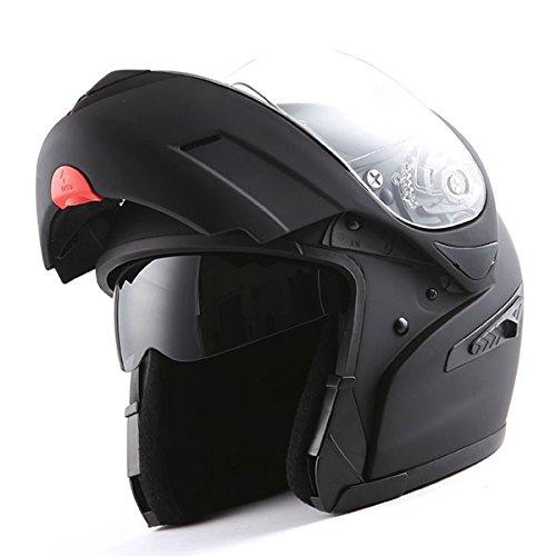 Dual Visor Motorcycle Helmet - 4