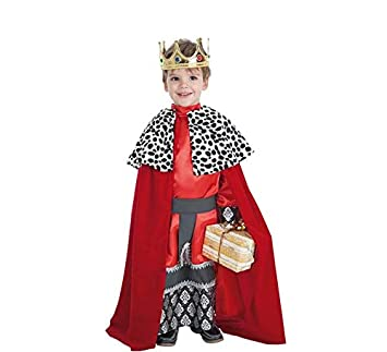 LLOPIS - Disfraz Infantil Rey Gaspar t-3: Amazon.es: Juguetes y juegos