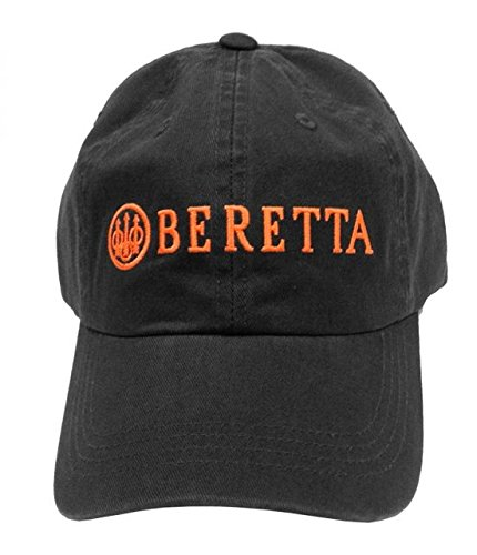 Beretta Men's Cotton Twill Hat, Charcoal Grey, One Size ()
