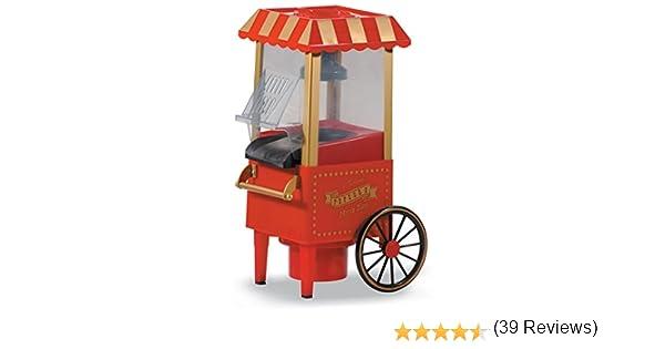 Máquina de palomitas con forma de carrito antiguo: Amazon.es: Hogar
