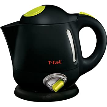 T-fal BF6138 Balanced Living 4-Cup 1750-Watt Electric Kettle with Variable Temperature and Auto Shut Off, 1-Liter, Black