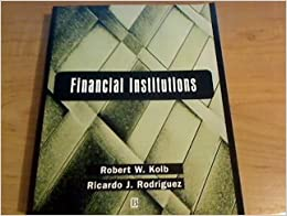 Book Financial Institutions