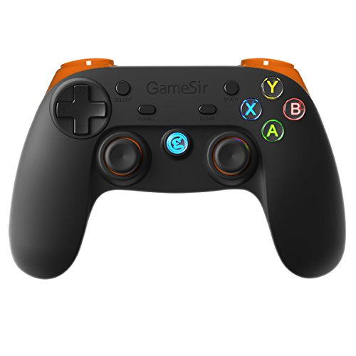 41IEflqYcTL - GameSir G3s 2.4GHz Wireless Bluetooth Gamepad Controller for Android TV BOX Smartphone Tablet PC (Orange)