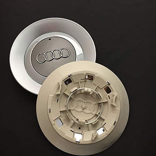 """FidgetFidget 4 X150mm Wheel Center Cap 8E0601165 for 2002-2007 Audi A4 B6 16"""" 5 Spoke Wheel"""