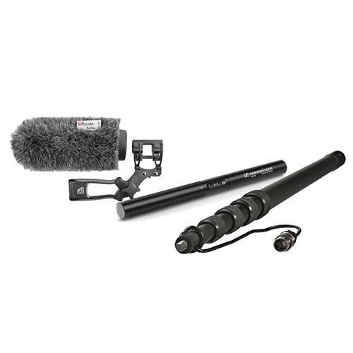 (Sennheiser MKE 600 Shotgun Microphone with Deluxe Boom Bundle #MKE600 K5)
