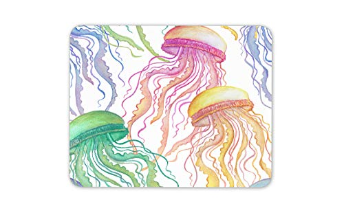 (Colourful Playful Jellyfish Mouse Mat Pad - Animal His Hers Gift Computer #14447)